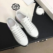 Trendy Sneakers Heel Casual-Shoes AUTUMN White WINTER Thick Popular MC109