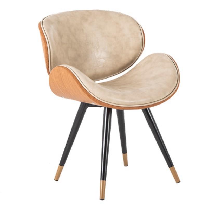 K-star Nordic Dining Chair Modern Minimalist Home Leisure Chair Coffee Shop Chair Wrought Iron Net Red Chair Coffee Shop Cha