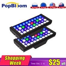 цена на PopBloom Smart Dimmable Led Aquarium Lights chihiros lighting fish tank lamp marine Coral Reef Full Spectrum Aquarium MJ3BP2