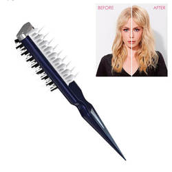Новый мгновенный кудрявый гребень для волос стиль пушистый плавник акулы гребень профессиональный стиль волос гладкий гребень для женщин