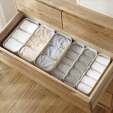Plastic Sock Storage Box for Separate Desk Drawer Home Underwear Storage Box Organizing