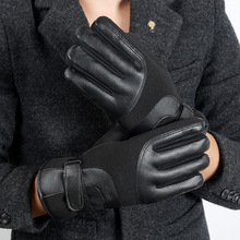 Men Women Windproof Waterproof Anti-Cold Warm Gloves Outdoor Sport Touch Screen Full Finger Mitten Adjustable ski gloves