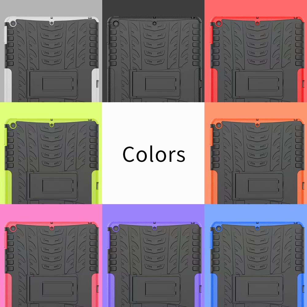 Kids Apple Child Hybrid-Armor Rugged iPad Defender Heavy-Duty for Shockproof Case-Cover