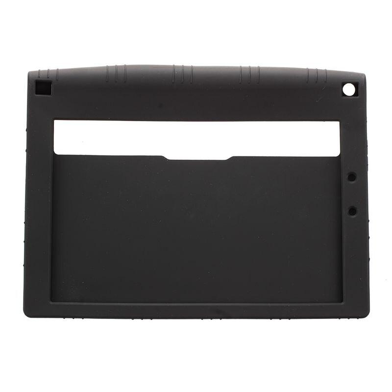 Galleria fotografica TPU Silicone Gel Rubber Case Cover For 10.1'' inch Lenovo Yoga Tablet 2 1050F BLACK