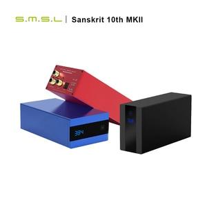 Image 2 - SMSL sanskryt 10th MKII HiFi Audio DAC USB AK4493 DSD512 XMOS optyczne Spdif koncentryczne wejście DAC dekoder pulpitu