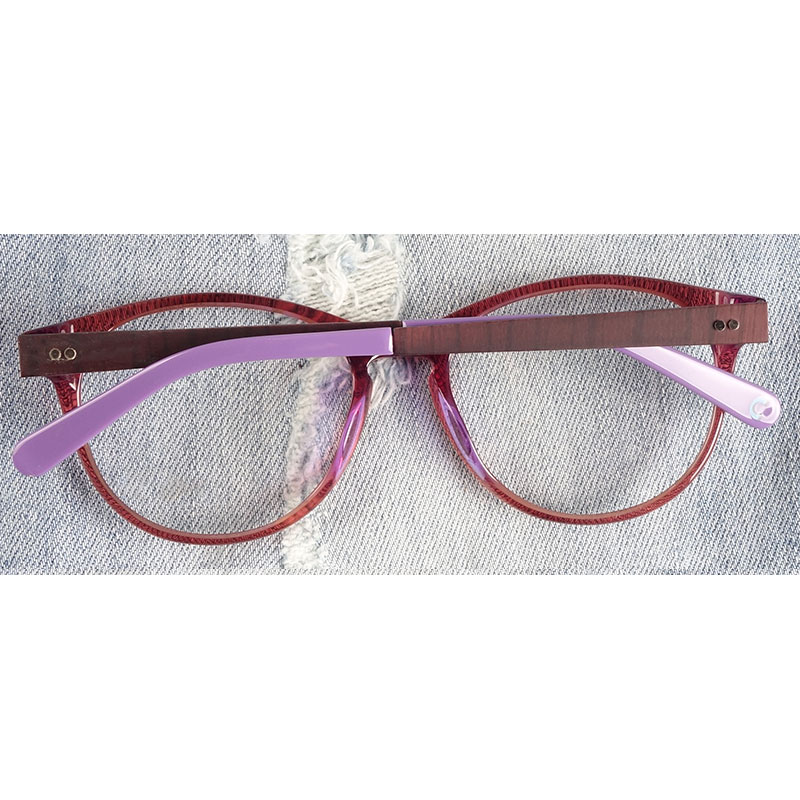 Image 2 - Women glasses frame teenage girls acetate Germany premium quality-in Women's Eyewear Frames from Apparel Accessories