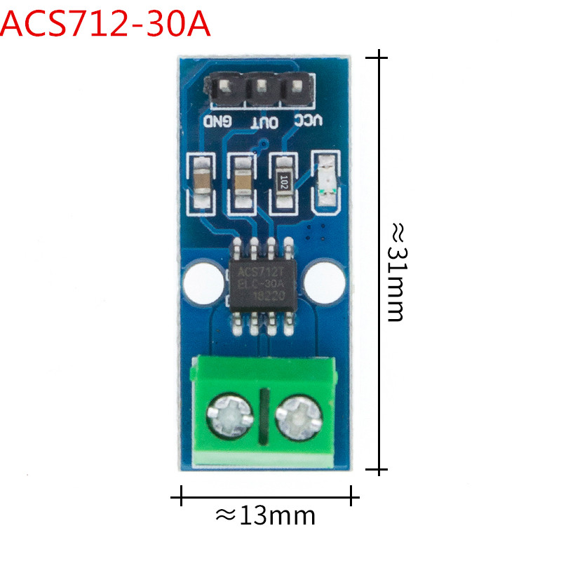 <font><b>10pcs</b></font> New <font><b>ACS712</b></font> Hall Current Sensor Module 5A 20A 30A <font><b>ACS712</b></font> module <font><b>ACS712</b></font>-5A <font><b>ACS712</b></font>-20A <font><b>ACS712</b></font>-30A image