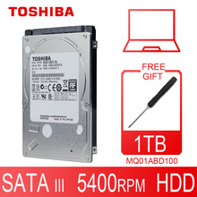 "TOSHIBA Laptop 1TB Hard Drive Disk 1000GB 1000G HDD HD 2.5"" 5400RPM 8M SATA2 Original New for Notebook"