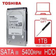 TOSHIBA disque dur HDD de 1000 pouces, avec capacité de 1000 go, 2.5 go, 1 to, 5400RPM, 8 mo de cache, pour Notebook, Original
