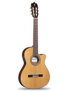 Guitarra Clásica fina 6.856 cutaway 3C Ct con pastilla, con escote, Alhambra