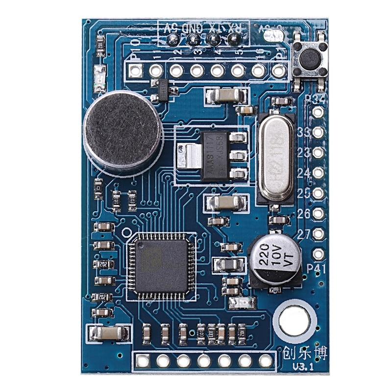 Speech Recognition Module Voice Board Vrm Ld3320 Asr 5V Power 43 X 29.7Mm