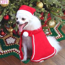 QIFU Merry Christmas Pet Clothes Ornaments Decorations For Home 2019 Navidad Natal Happy New Year Gifts 2020