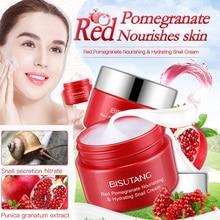 NEW Red Pomegranate Face Cream Moisturizing Whithening Hydrating Anti Wrinkle Skin Care