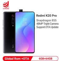 Rom globale Xiaomi Redmi K20 PRO 6GB 64GB Snapdragon 855 48MP caméra arrière Pop-up caméra frontale 4000mAh en reconnaissance d'écran
