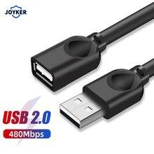 Cáp USB Nối Dài Nam đến Nữ Dây Siêu Tốc Độ USB 2.0 1.5M 3M 5M Đồng Bộ Dữ Liệu USB Nối Dài Cáp Nối Dài