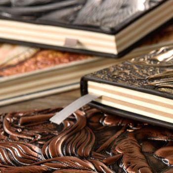 цена Creative The Magic Embossed A5 Leather Notebook Journal Notepad Travel Diary Planner Book School Office Supplies онлайн в 2017 году