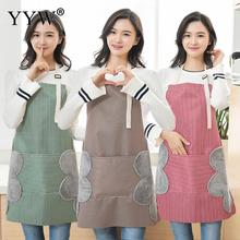 Kitchen Apron For Hairdresser Aprons Woman Cooking Oxford Antifouling Absorbent Waterproof Fartuch Kuchenny