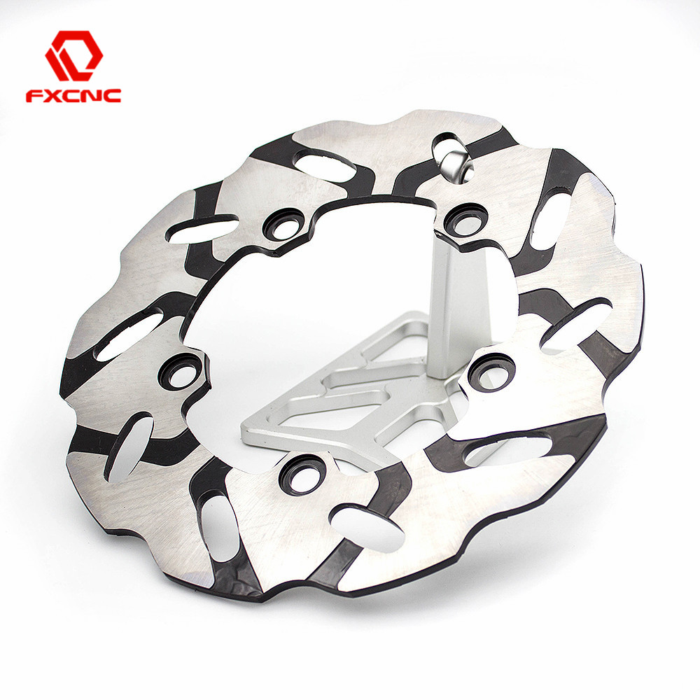 220mm Motorcycle Brake Disks Rear Brake Disc Rotor Fixed Disc Rotor For Yamaha YZF R1 2007-2014 YZF R6 2005-2015