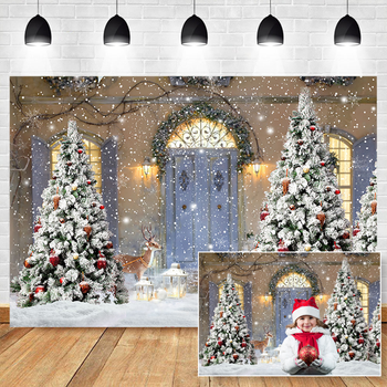 Christmas Backdrops for Photography Christmas Backdrop Snow Winter Photocall Background Photo Studio Christmas Tree Backdrop mocsicka christmas winter snow night backdrops for photography christmas tree fence decor photographic studio photo backgrounds