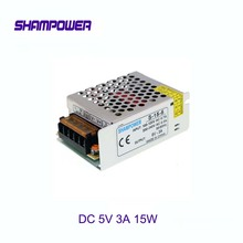 цена на DC 5V Power Supply 15W 3A AC 110V/220V To DC 5V Switch Power Supply Security Adapter Power Supply For LED Strip Light motor