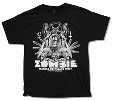 ROB ZOMBIE SHADOW BLACK T-SHIRT NEW OFFICIAL TEENAGE NOSFERATU ADULT2019 fashionable Brand 100%cotton Printed Round Neck T-shi