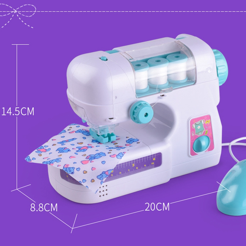 Mini Electric Sewing Machine Sew Activities Toy For Girls Kids Gifts Christmas Funny Children Toy