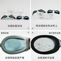 Óculos de sol de peixe voador álcool por volume óculos masculinos adulto feminino à prova dwaterproof água anti nevoeiro miopia alta definição grande caixa transparente|Óculos de segurança| |  -