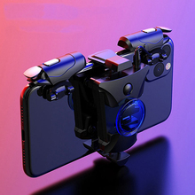 Mobile Phone Gaming Trigger L1R1Shooter Pubg Controller for PUBG Gamepad Game Turbo Fire Button 16 Shots Per Seconds