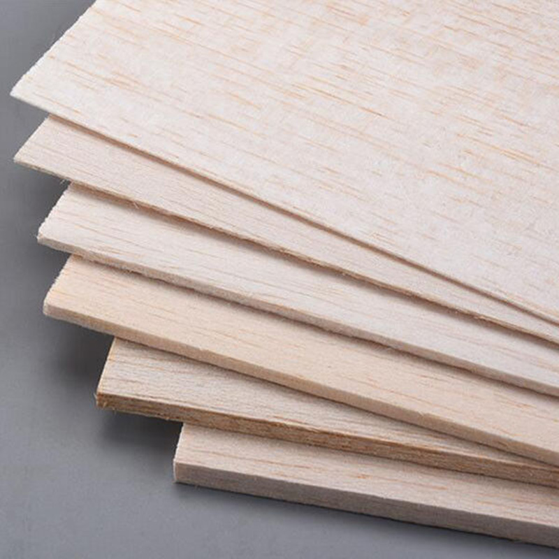 Sheets Wooden House Plate Aircraft Thick Crafts Model Wood 1mm~8mm Balsa DIY Latest Hot High Quality