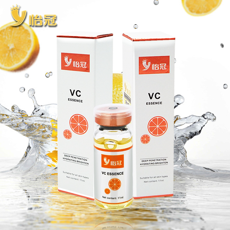 100% Pure Vitamin C Serum Liquid Freckle Removal Acne Scars Hyaluronic Acid Anti-aging Anti-wrinkle Vc Face Serum Fade Dark Spot