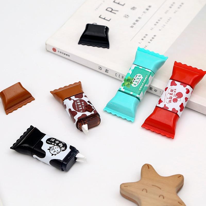 JIANWU Sweet Candy Correction Tape Creative Modeling Students Kawaii 3.5m School Supplies