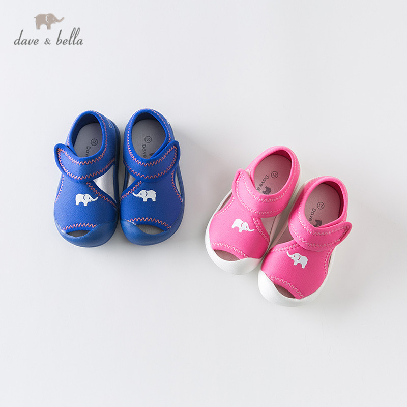 DB13538 Dave Bella Summer Baby Unisex Fashion Sandals New Born Infant Shoes Sandals Cartoon Shoes