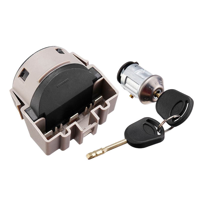 Car Ignition Switch Lock Cylinder with 2 Keys for Ford Focus MK1 Transit Connect 1998 2013 1022184 1677531|Electronic Ignition| |  - title=