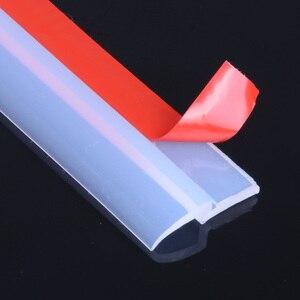 Image 4 - Transparent Z Type Auto Rubber Seals Car Door Sealing Strip Weatherstrip Edge Trim Noise Insulation 2 8 Meters Sound Insulation