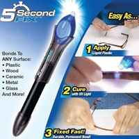 Universal Glue Stick 5 Second Fix Drying Repair Tools Glue Super Powered Liquid Plastic Welding Compound With UV Light Laser New