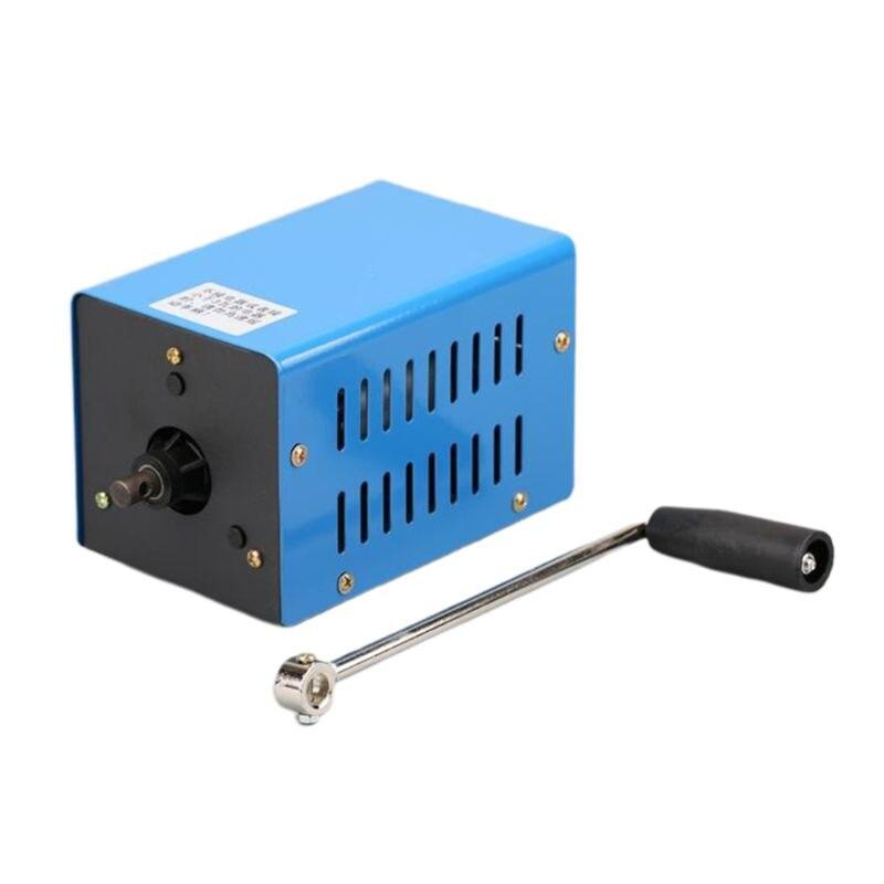 New Portable Emergency Generator Inverter Outdoor Multifunction Manual Crank Dynamo