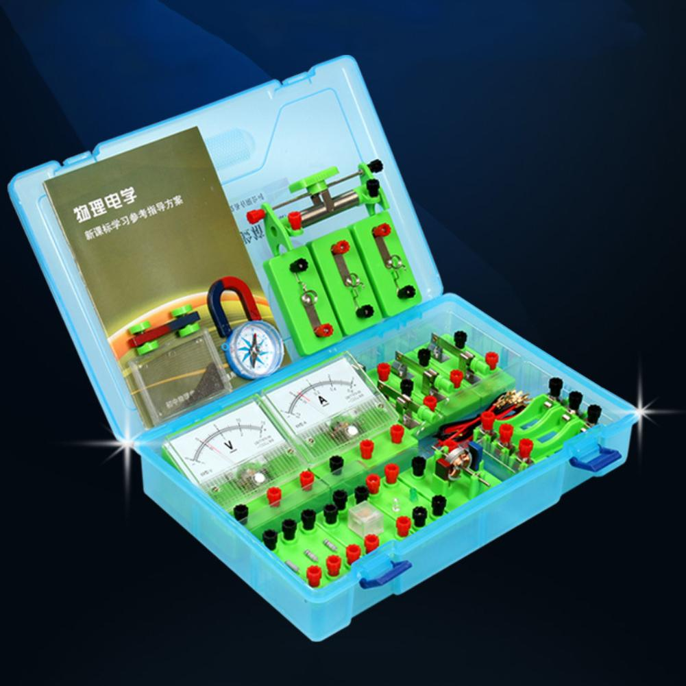 Physics Experiment Kits Physics Labs Electricity Circuit Magnetism Experiment Kit For Junior High School For 7-14 Years Old