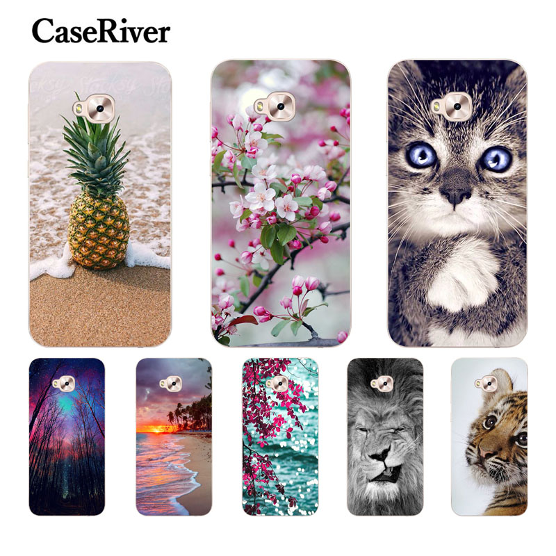 CaseRiver For Huawei Honor 5C Cover Cover Silikoni Silikoni e butë për Honor 5C Versioni Rus