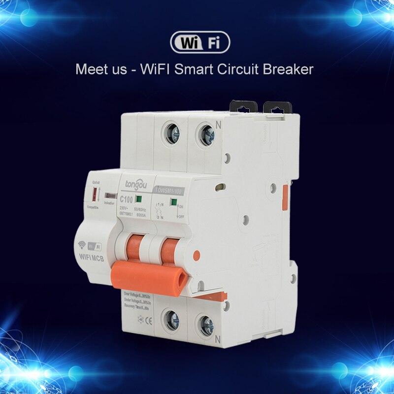 Interruptor magnetotérmico inteligente 16A-100A