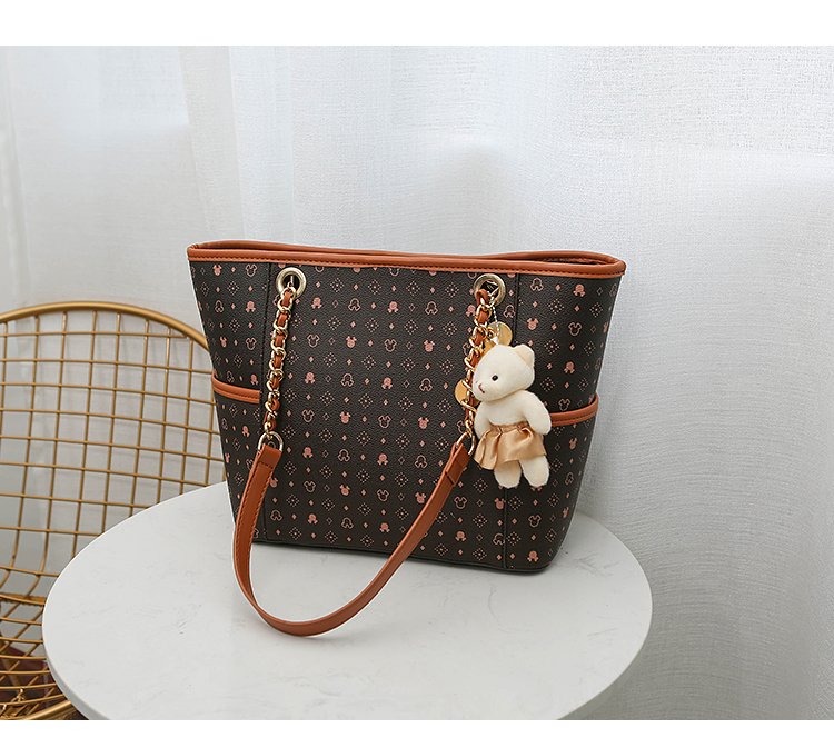 Hd0ed9e400c274fcaa44fc2324f39de0db - Cartoon Handbag PU Large Capacity Women's Shoulder Bag