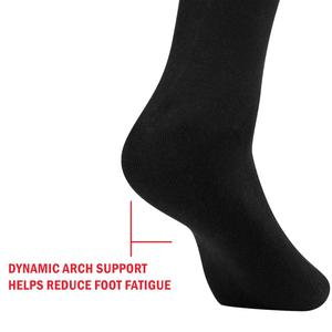 Image 4 - YUEDGE Brand Mens Black Wicking Breathable Cushion Comfort Cotton  Casual Sports  Cycling Crew Socks(5 Pairs/Pack)