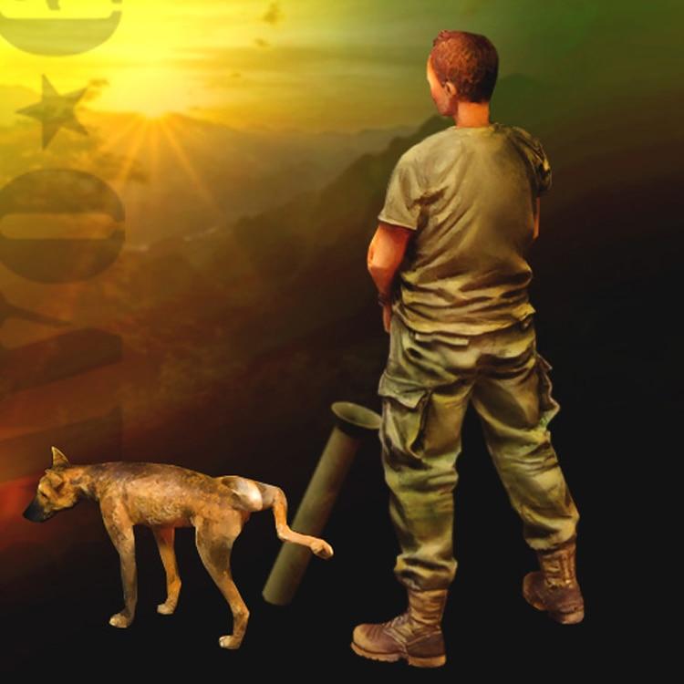 1/35 Life is Good, полимерная модель солдата, GK, военная тема Второй мировой войны, разобранный и Неокрашенный набор