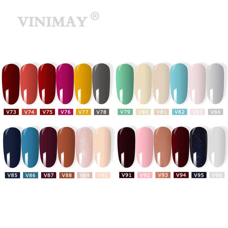 VINIMAY 96 Цветной Гель-лак для ногтей, Гель-лак, набор праймеров, отмачиваемый, УФ-Гель-лак для ногтей, маникюрный салон, 15 мл