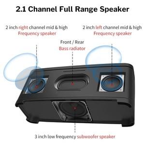 Image 2 - مكبر صوت منزلي من Deelife مزود بتقنية البلوتوث مع ضبط جهير ومكبر صوت قوي لاسلكي مزود بـ 2.1 قناة صندوق صوت محيطي للموسيقى استيريو