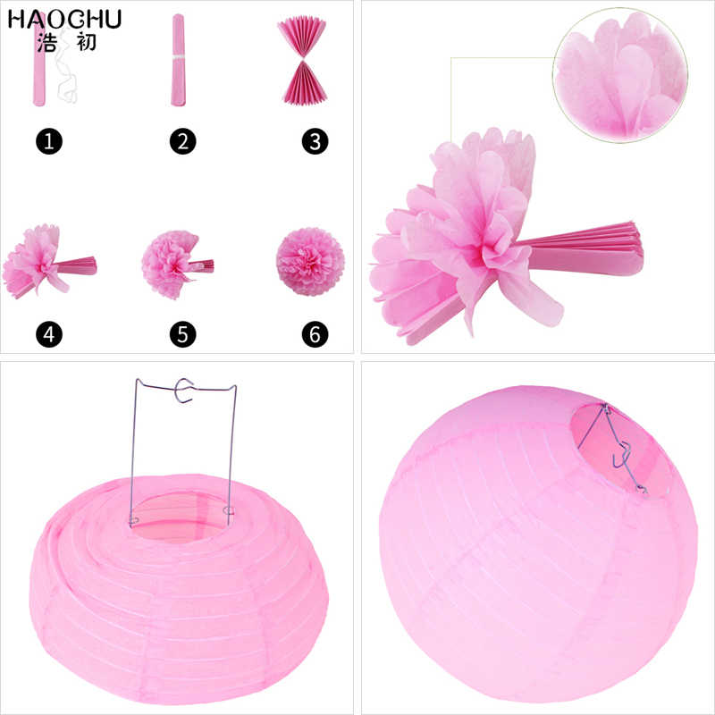 12 pçs/set Ventilador de Papel Cut-out Pinwheels Pendurado Artesanato Tissue Pom Poms Flor Bola Festa de Aniversário de Casamento da Lanterna de Papel Decoração