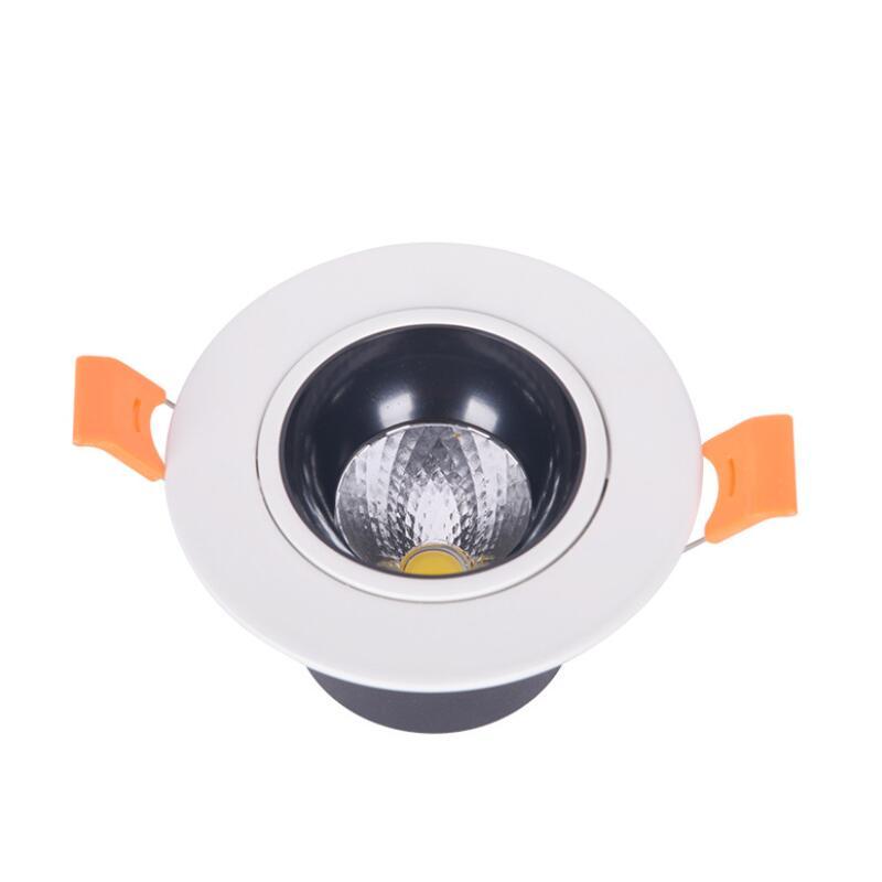 2020 High quality ultra brightness COB LED downlight round chandelier dimmable 110v 240v 5W 7W 10W 15W 30w 50w 60w|LED Downlights| |  - title=