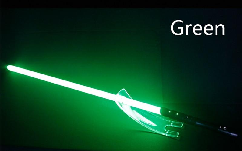 metal espada rgb luz laser cosplay menino
