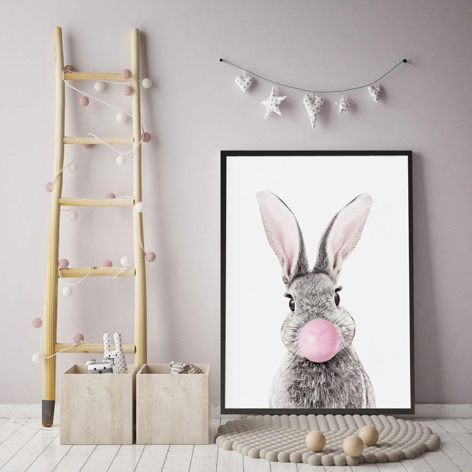 主图_Wall_Art_Canvas_Painting_Koala_Zebra_Elephant_Pig_Owl_Balloon_Nordic_Posters_And_Prints_Animal_Wa (3)