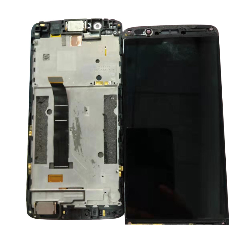 For ZTE Axon 7 mini B2017 LCD Display Frame Touch Screen Digitizer Assembly For Axon7 Mini B2017G Complete
