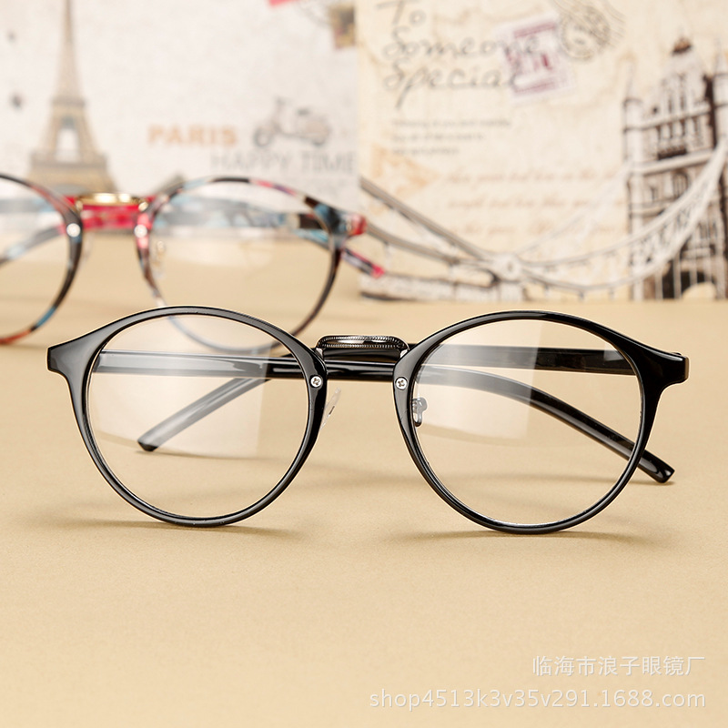 Ultralight TR90 Finished Myopia Glasses Women Men Retro Round Student Short-sighted Glasses Diopter -0.5 -1.0 -1.5 -2.0 To -6.0